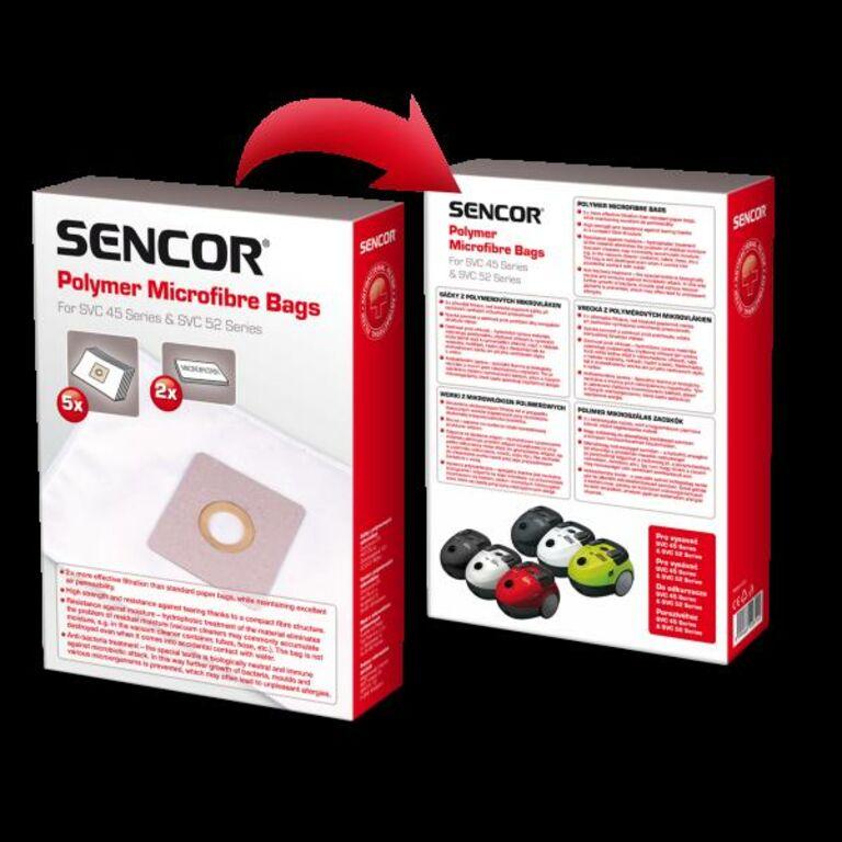 Uued tolmukotid mudelitele SENCOR SVC45 ja SVC52