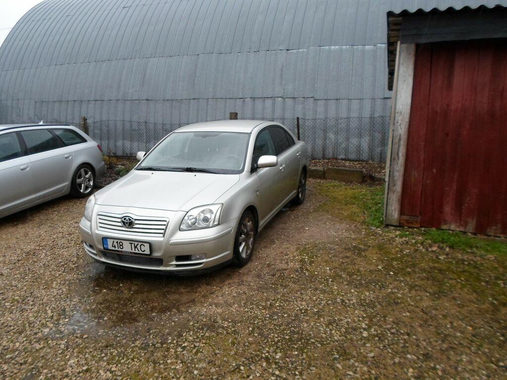 Toyota Avensis 2,0TDI 85kW, 2004 heas korras