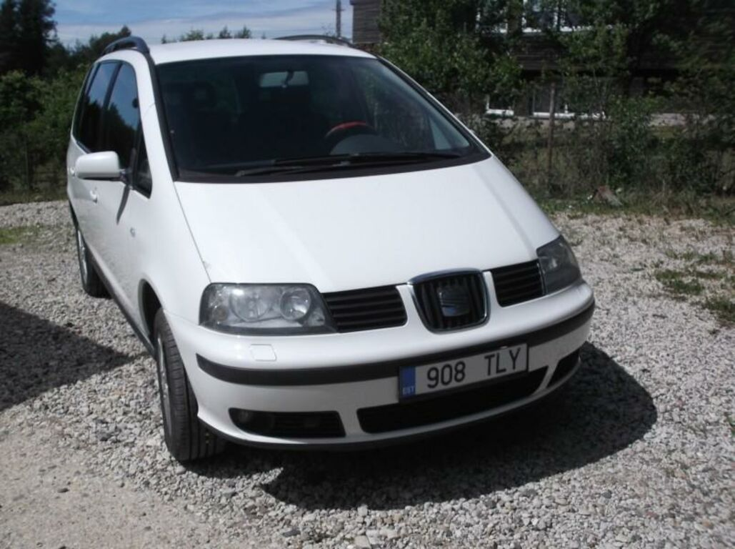 SEAT  ALHAMBRA 1,9 85 kW NELIKVEDU 2007a.