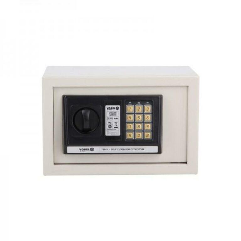 Elektroonilise lukuga seif 35x25x25cm