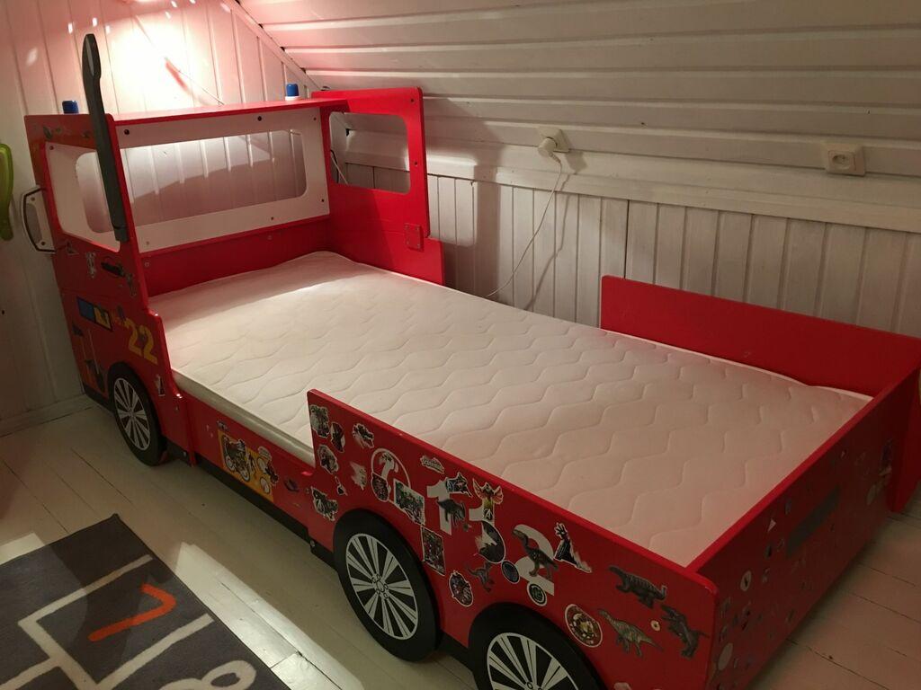 Laste voodi auto