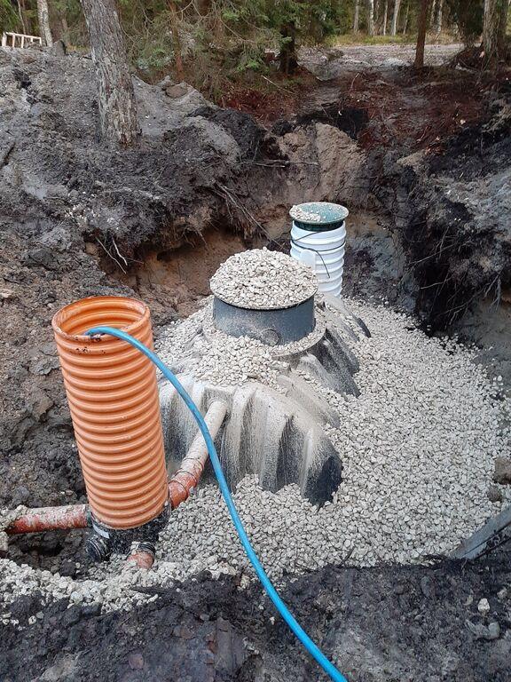 Biopuhasti, septiku ja mahuti paigaldus