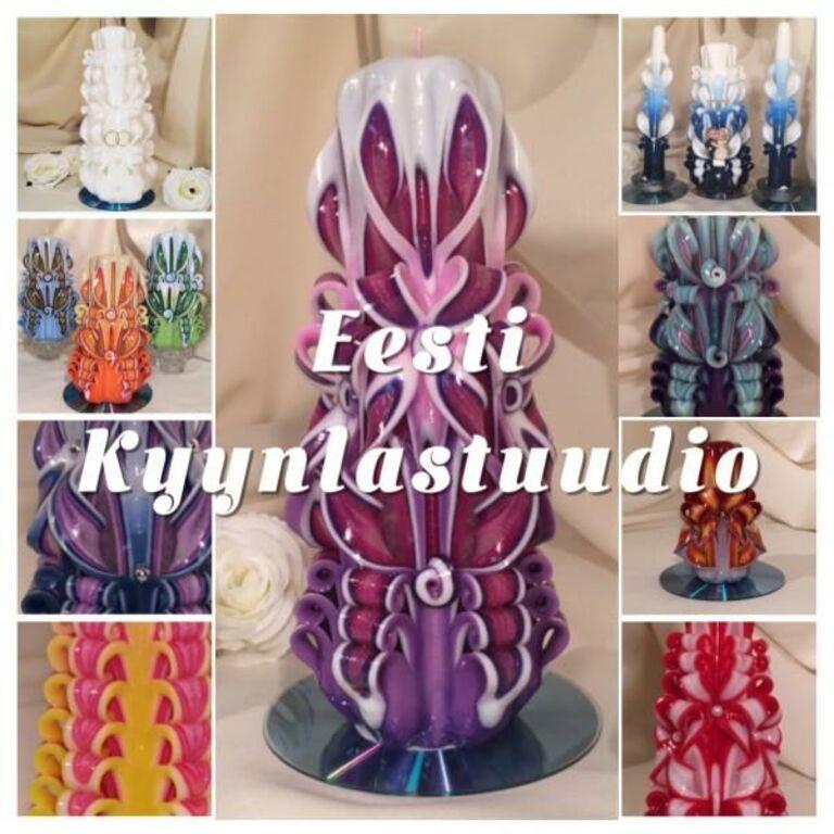 Müüme käsitöö küünlaid valmistava firma
