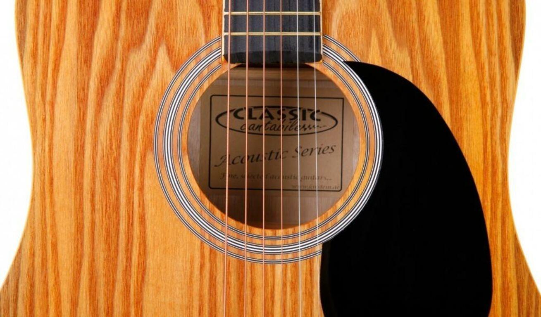 Akustiline kitarr Classic Cantabile WS-1 + kott