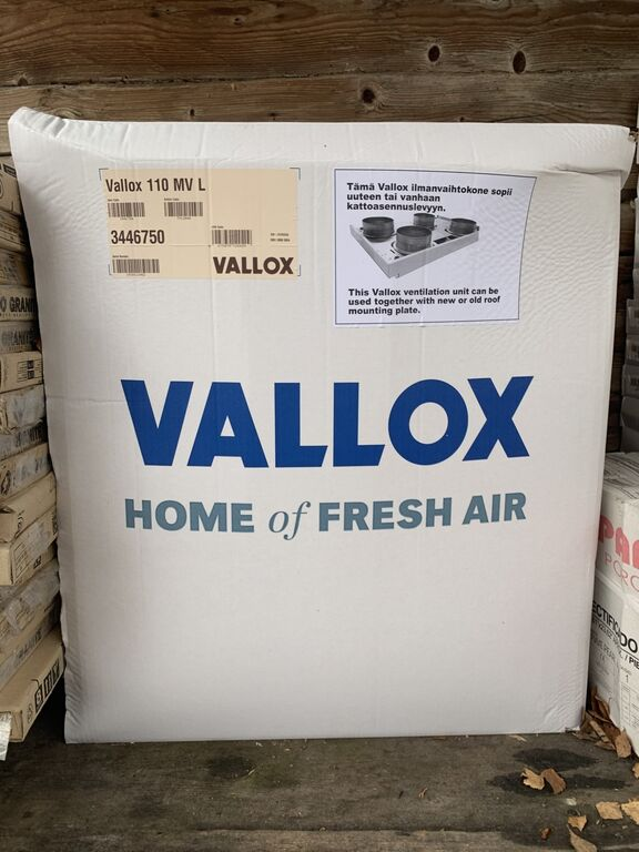 Ventagregaat Vallox 110 MV