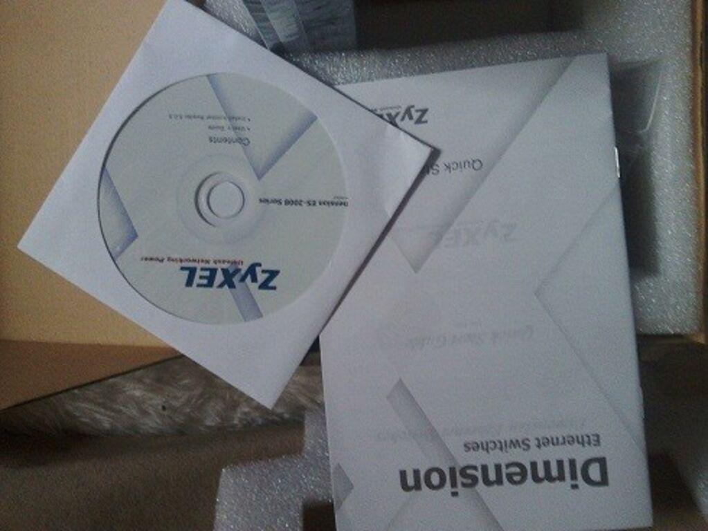 Uus  switcher ZyXEL ES-2008
