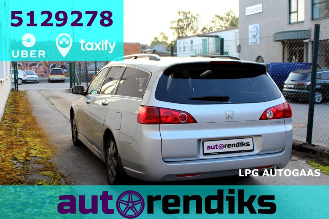 Autorent - Honda Accord LPG autom. Taxify-Uber