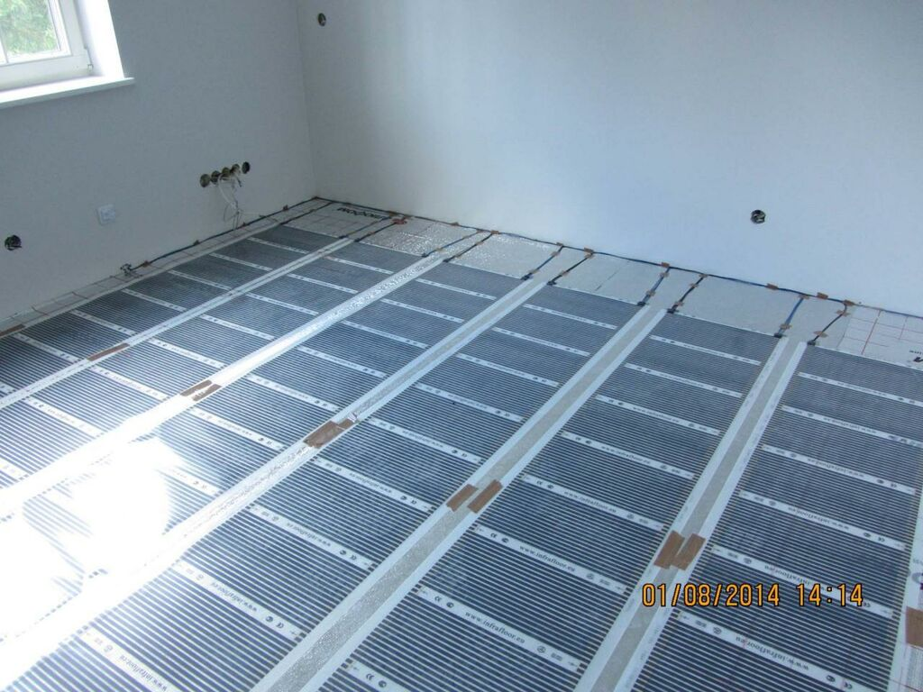 Põrandaküte IFR - küttekile