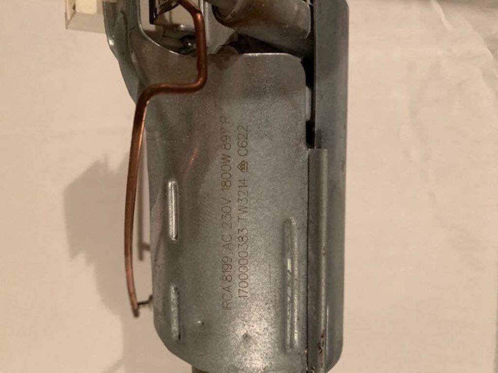 Nõudepesumasina küttekeha.
