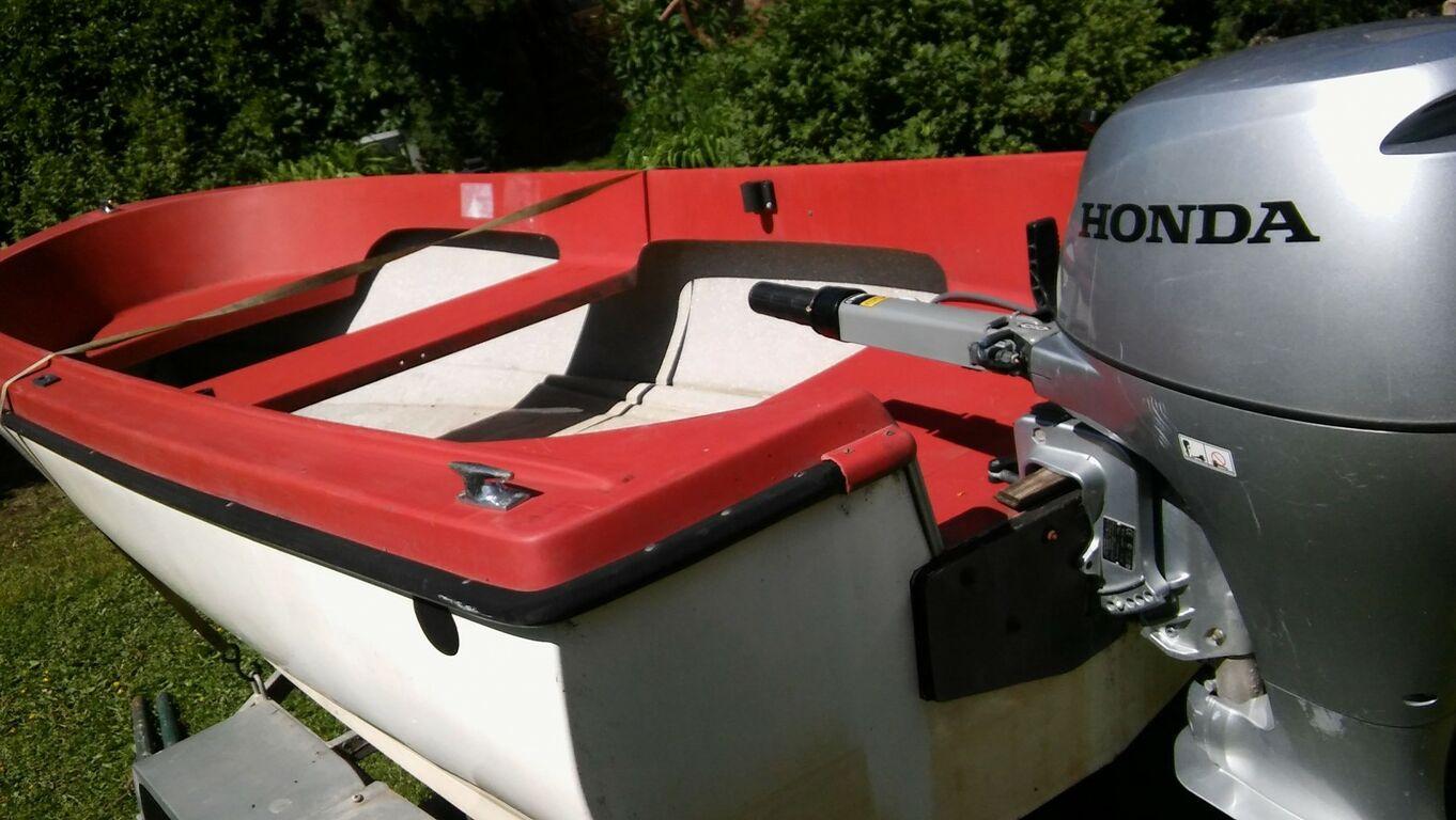 Mootorpaat + 2 mootorit + Treiler jne