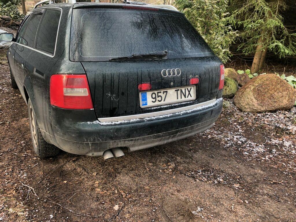 Audi A6 1,9 ja Audi A6  2,4