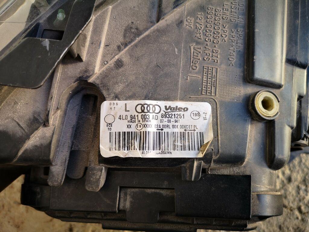 Audi q7 esituled