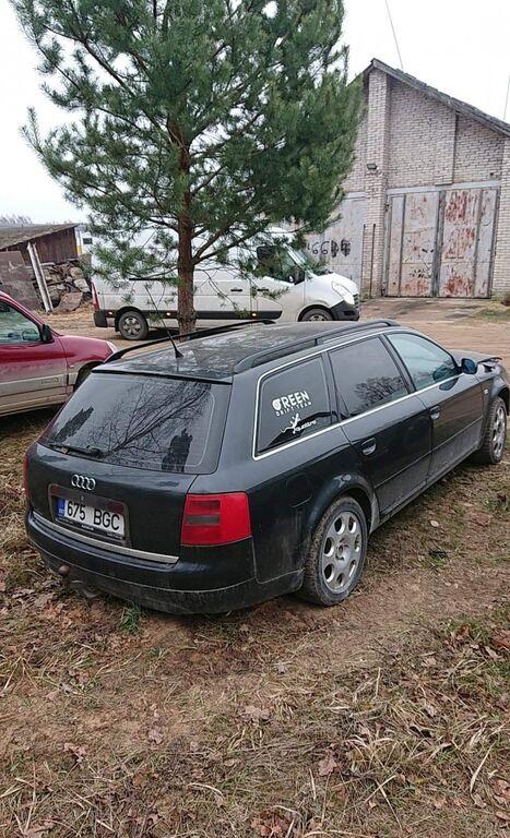 Audi a6 2.5 132kw manuaal quattro