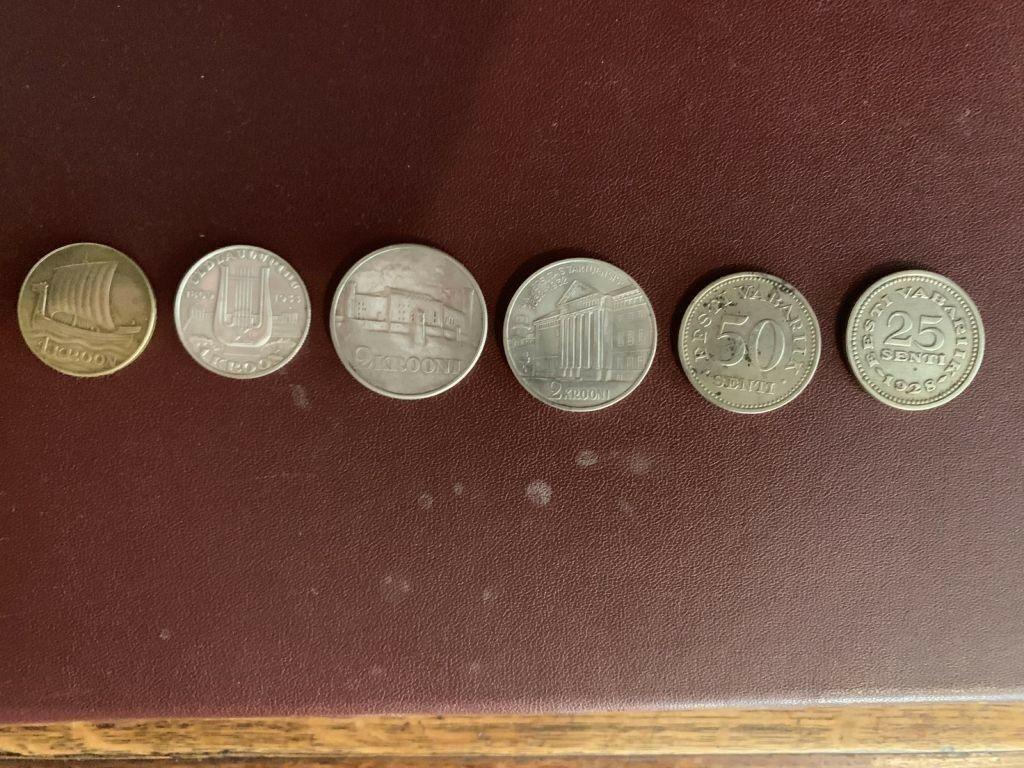 Vanaaegsed Eesti mündid