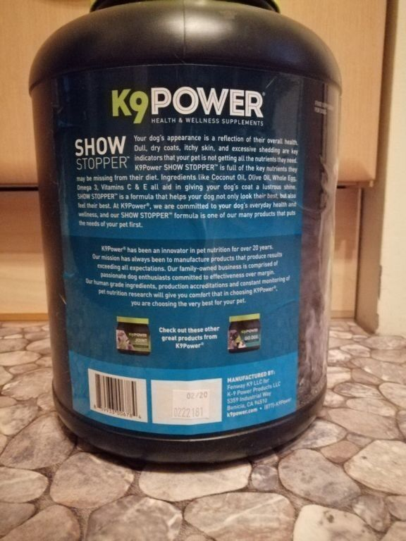 Toidulisand K9power ShowStopper 3,6kg