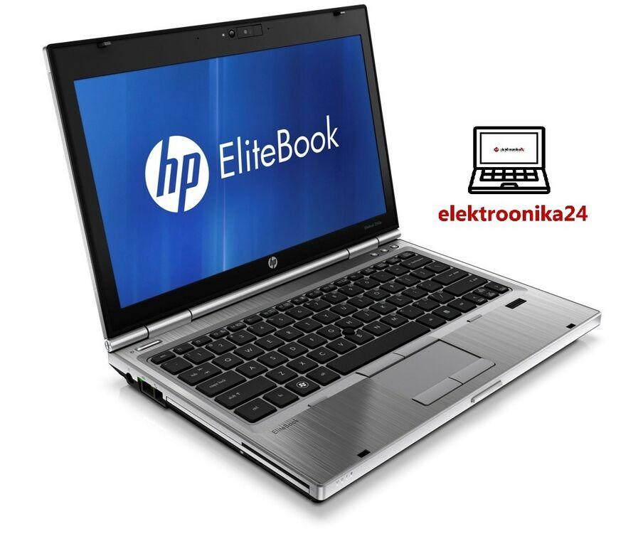 HP Elitebook 2560p i7 ja 128GB SSD sülearvuti