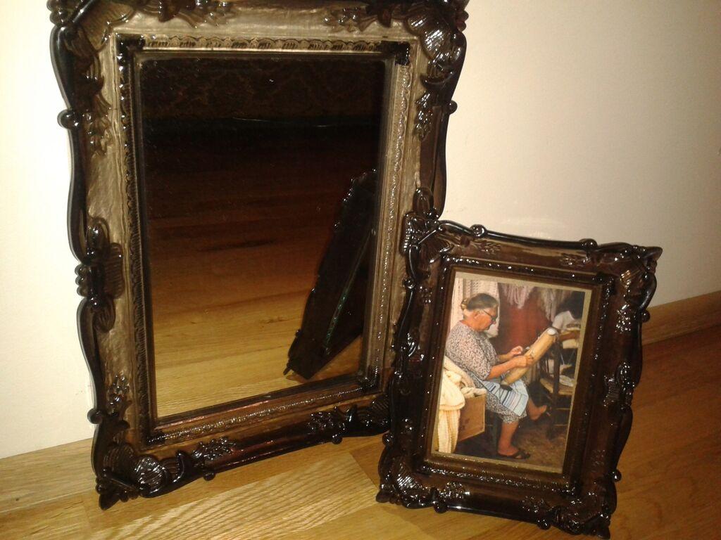 Peegel+pildiraam