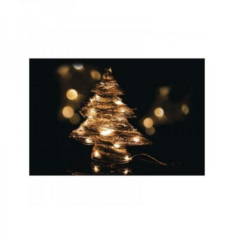Jõulukuusk 30 LEDi soe valgus