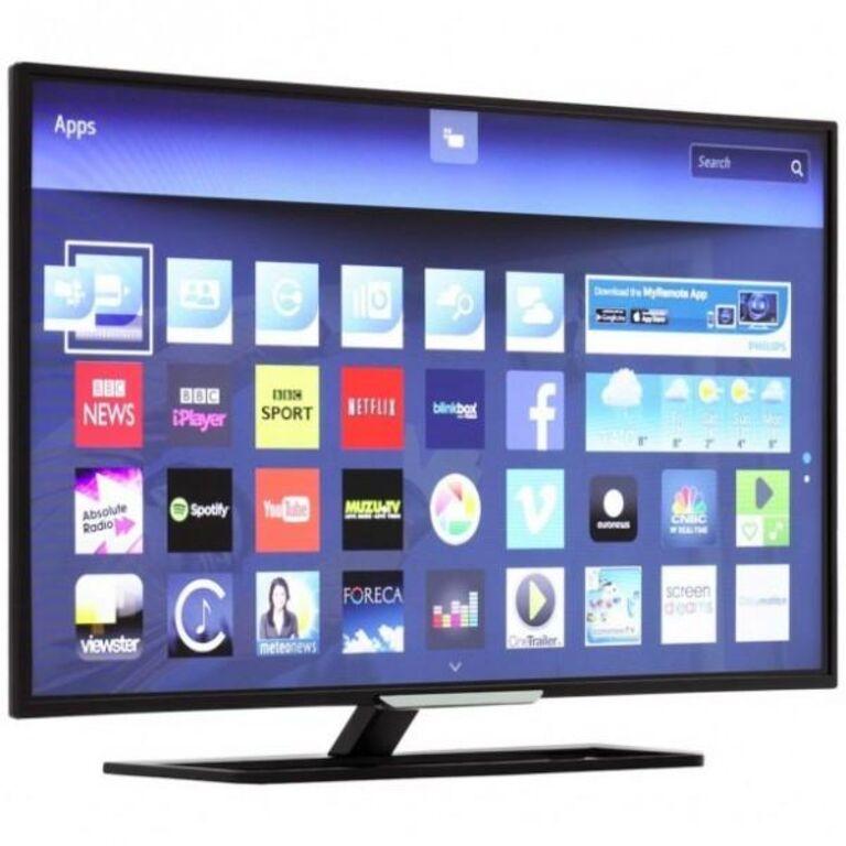 Philips 40 tolli Smart tv, wi-fi. Hübriid tv.
