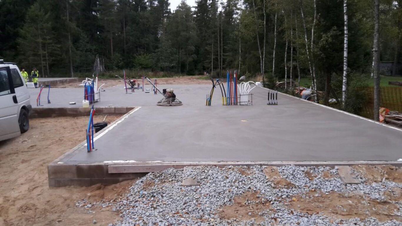 Betoonpõrandate valamine ja lihvimine