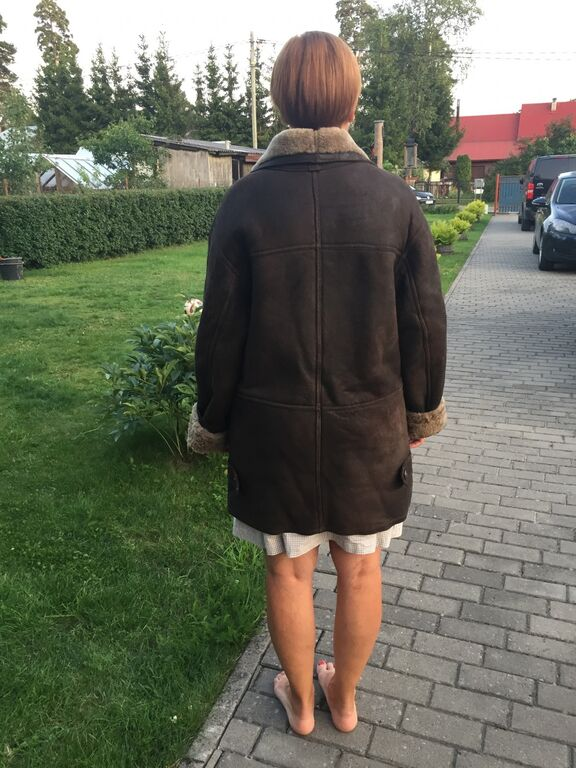 Nahast mantel