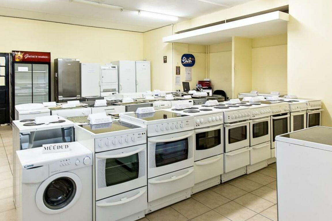 Suur valik garantiiga kasutatud kodumasinaid