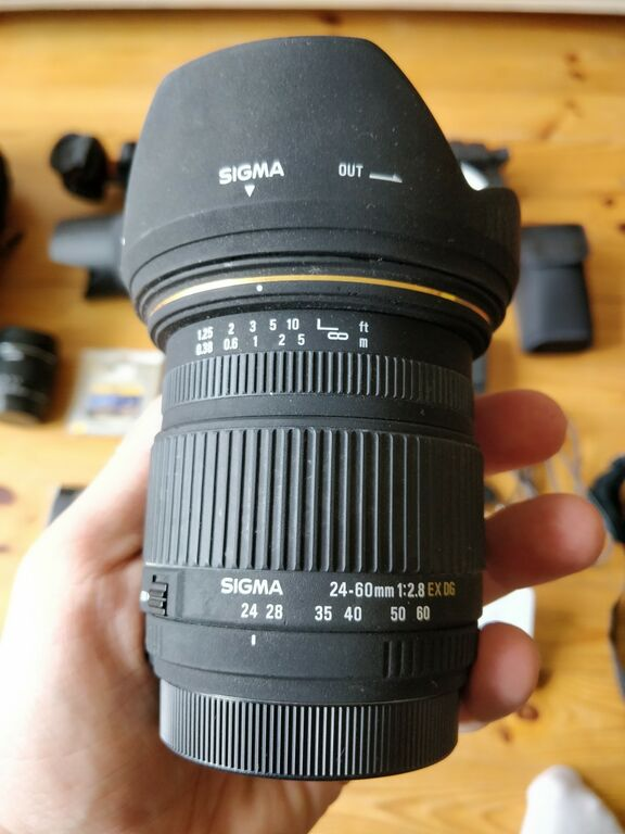 Fotokaamera komplekt Canon MKII 7D