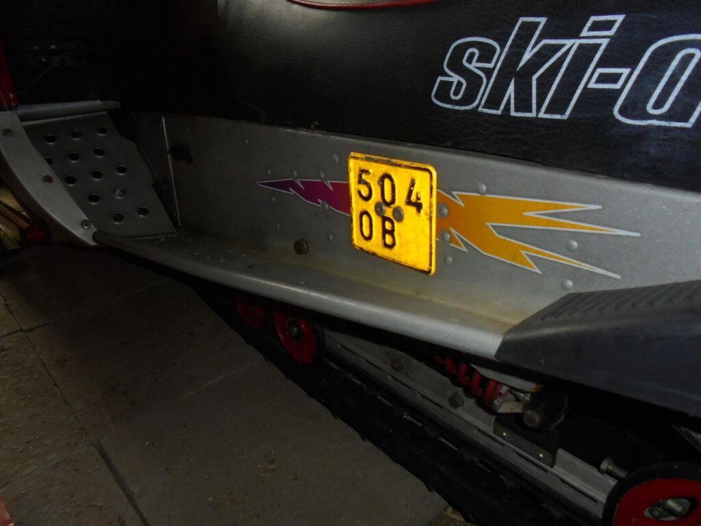 Lumesaan SKI-Doo ROTAX 583 Formula.