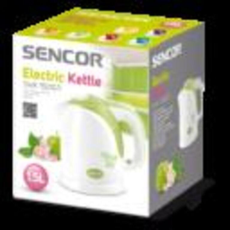 Veekeetja Sencor  valge/roheline