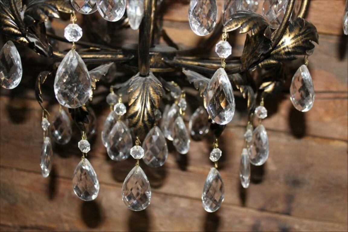 Laevalgusti/lühter kristallidega