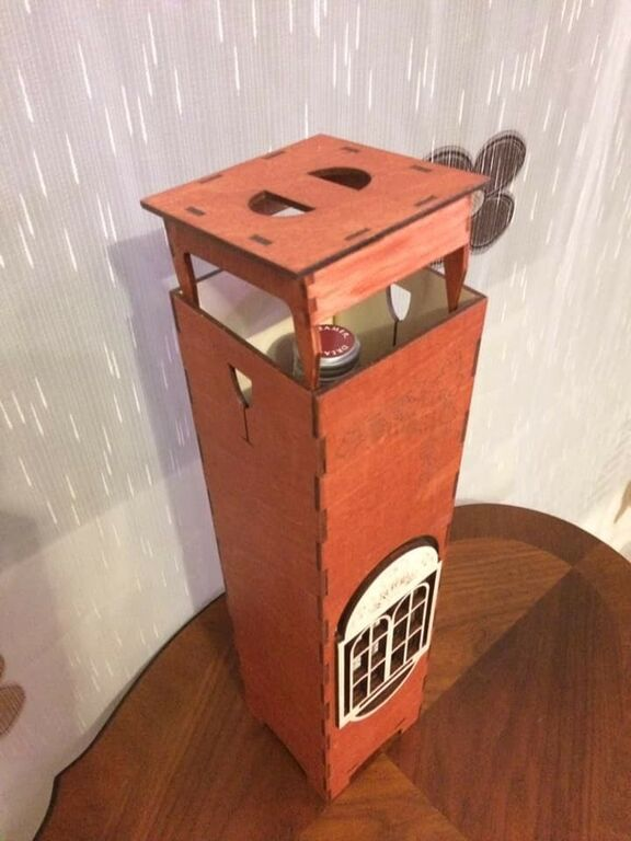 Kinkekarp veinipudelile