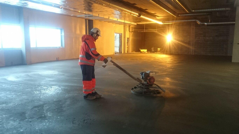 Betoonpõrandate valajale