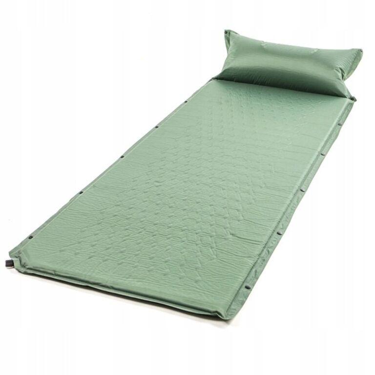 Isetäituv madrats telkimiseks 50x190, roheline