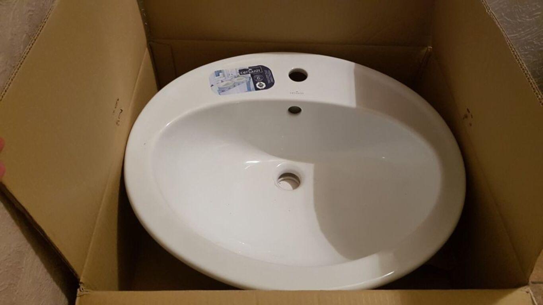 Süvistatav vannitoa valamu Cersanit
