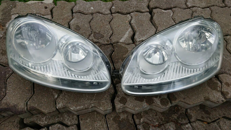 VW Golf 5 esituled.