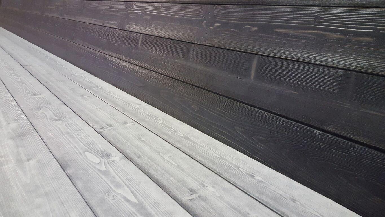 Raudsulfaadiga viimistletud terrassilaud