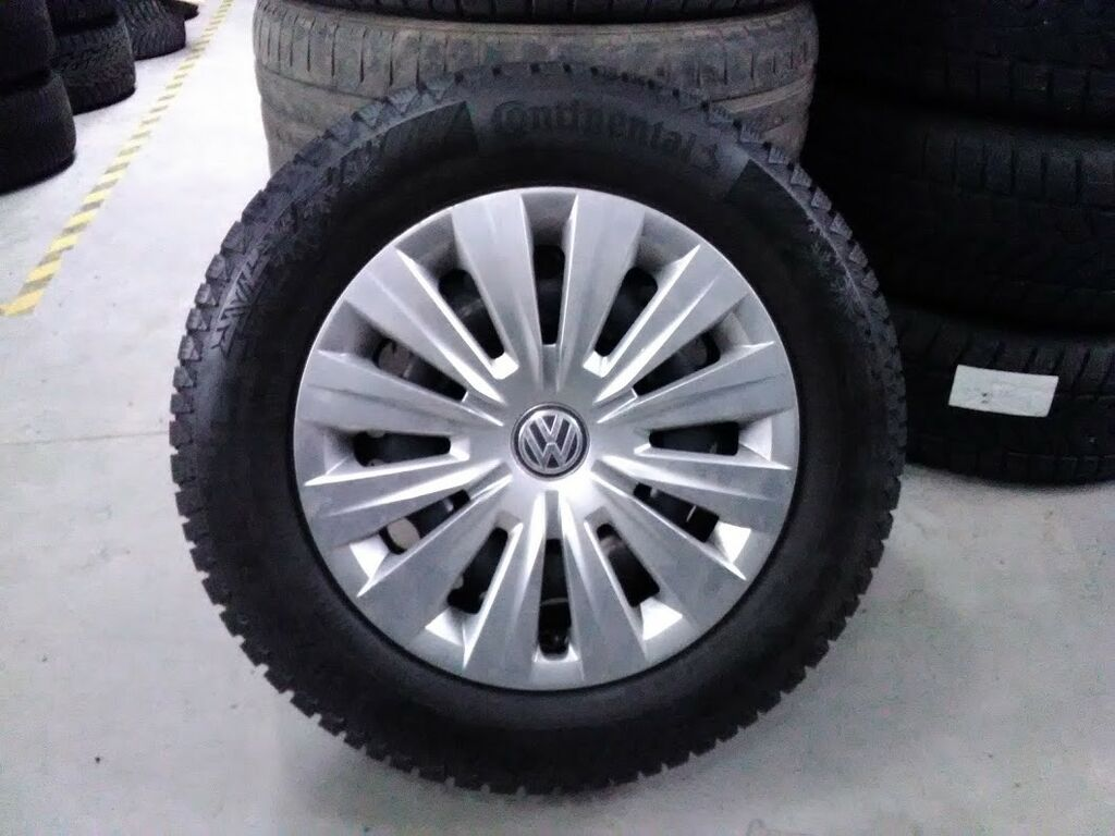 """Müüa 15"""" VW originaalvelgedel talvejooks"""