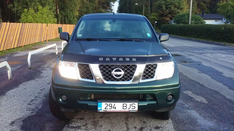 Nissan Navara 2007,2,5d manuaal