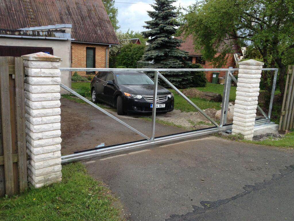 Värav, väravad, liugvärav, värava komplekt