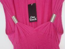Uus tumeroosa maxi - kleit s.M/L