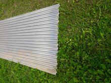 Alumiiniumist laineline katuseplekk