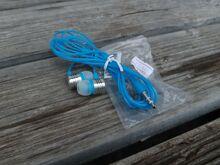 Kõrvaklapid 3,5mm otsik , sinine/hall