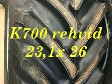 K700 rehvid 23,1- 26  12- kihilised metsa !