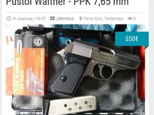 Püstol Walther - PPK