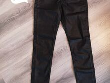 Mustad nahkpüksid