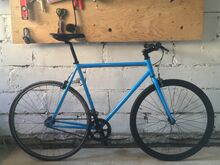 Uueväärne 6KU fixed/single speed jalgratas