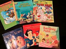 Walt Disney lasteraamatud