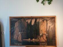 """Arnold Böcklin """"Surnute saar"""""""