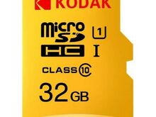 Uus Mälukaart KODAK 32GB MicroSDHC Class 10
