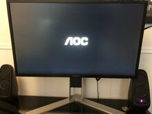 2x AOC AG271QX 2560x1440 144Hz Freesync monitori